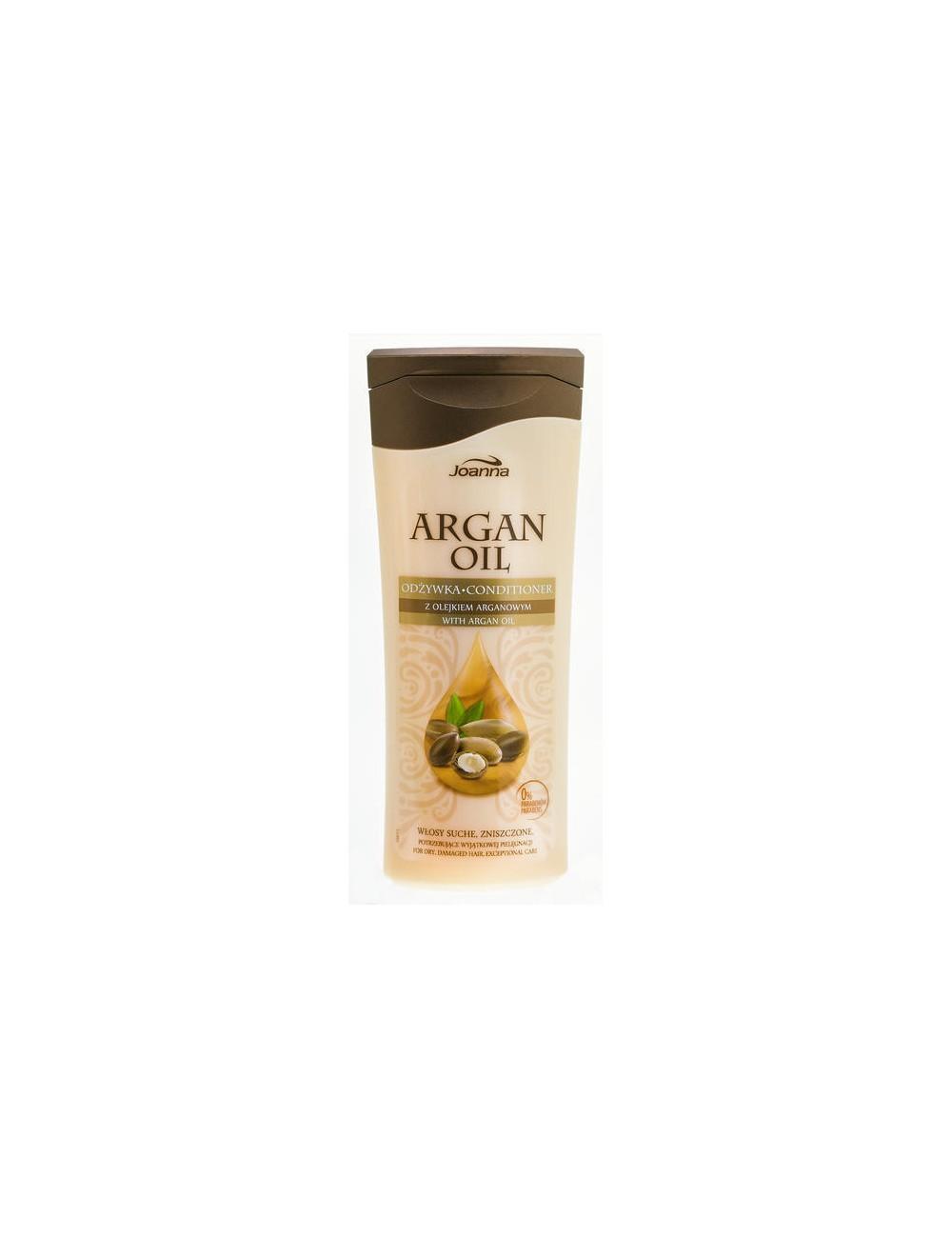 Joanna Argan Oil Odżywka Z Olejkiem Arganowym Do Włosów Suchych Zniszczonych 200ml