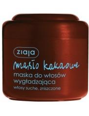 Ziaja Masło Kakaowe Maska Wygładzająca Do Włosów Suchych, Zniszczonych 200ml
