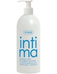 Ziaja Intima Regenerująco – Łagodzący, Kremowy Płyn Do Higieny Intymnej Z Kwasem Laktobionowym 500ml