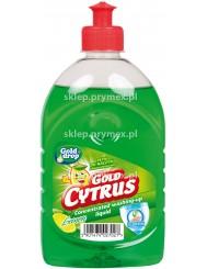Gold cytrus cytryna – skoncentrowany płyn do mycia naczyń z gliceryną 500ml