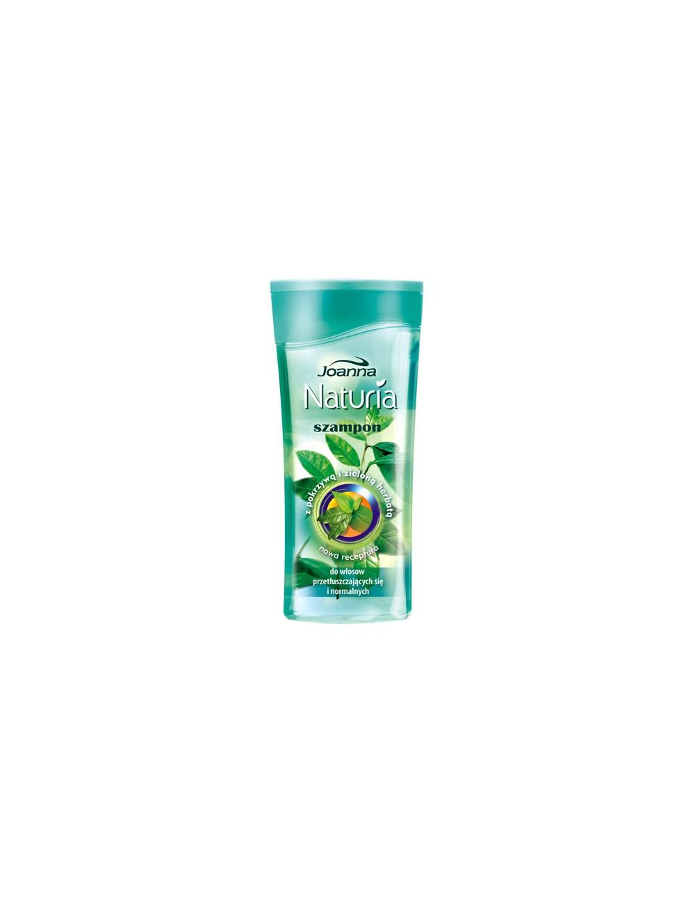 Joanna naturia szampon z pokrzywą i zieloną herbatą do włosów przetłuszczających się i normalnych 200ml