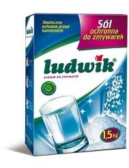 Ludwik ochronna sól do zmywarek – chroni przed kamieniem 1,5kg