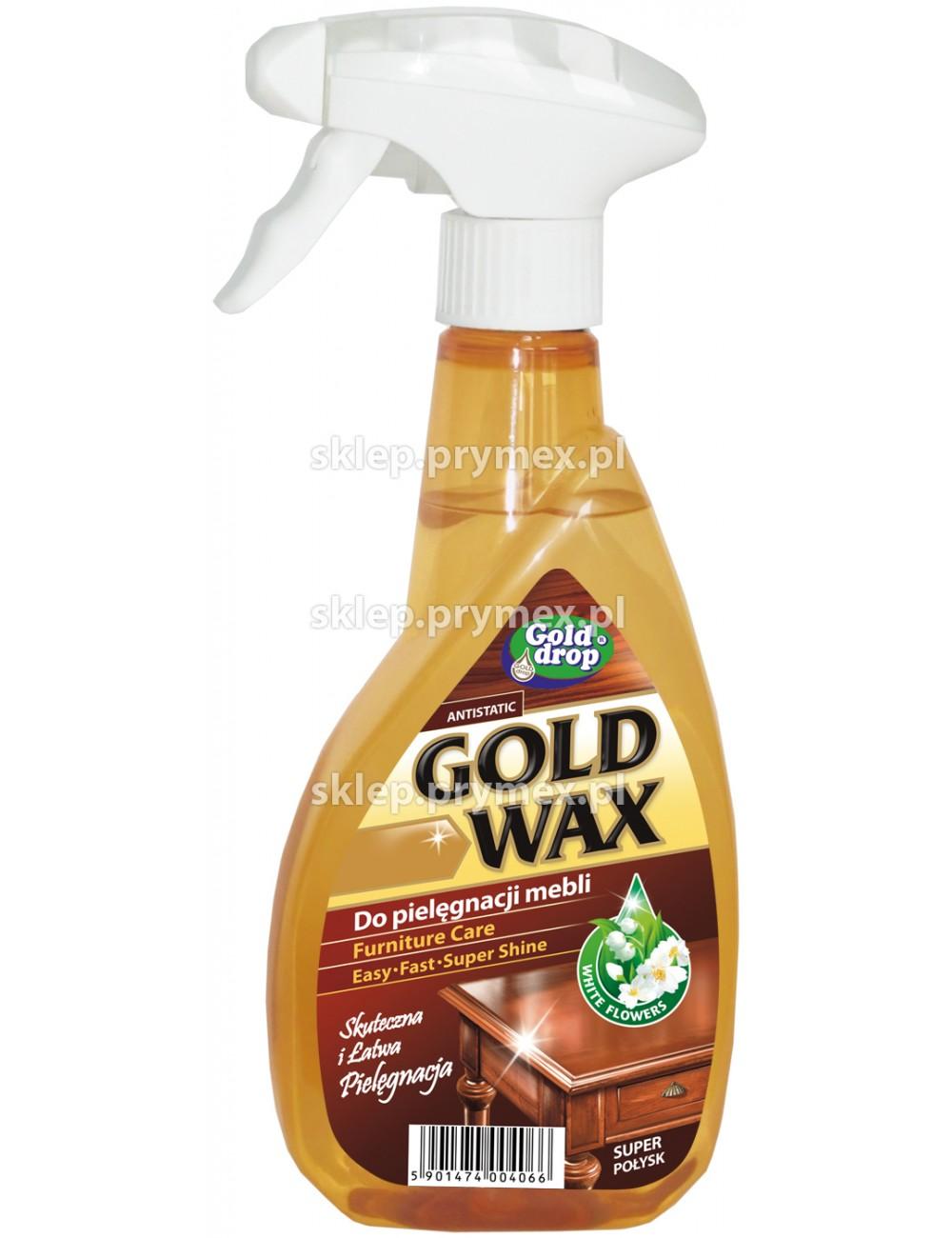 Gold Wax Do Mebli z Pompką 400ml