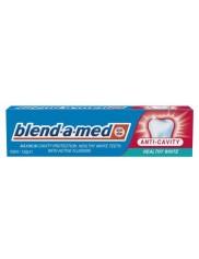 Blend-a-Med Zdrowa Biel Healthy White Pasta Do Zębów 100ml – ochrona przeciw-próchnicza