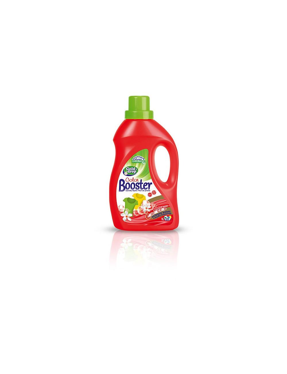 Booster Automat 1l Kolor (20 prań) – płyn do prania kolorowych tkanin