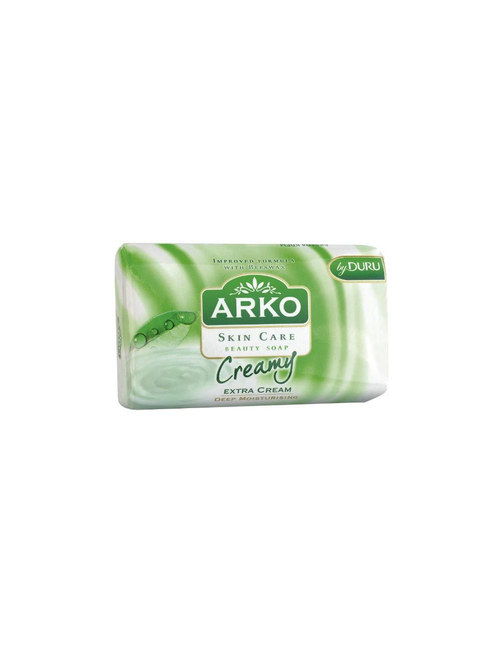 Arko Kremowe 90g – mydło z kremem nawilżającym, pozostawia skórę gładką i dobrze nawilżoną
