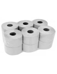 Jumbo Papier Toaletowy Szary (12 rolek) – 1-warstwowy