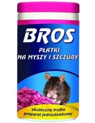 Bros Płatki Na Myszy 250g – preparat do zwalczania gryzoni