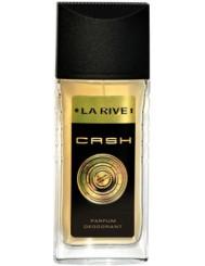 La Rive Cash Man 80ml – perfumowany dezodorant w atomizerze o zmysłowym zapachu dla aktywnych mężczyzn