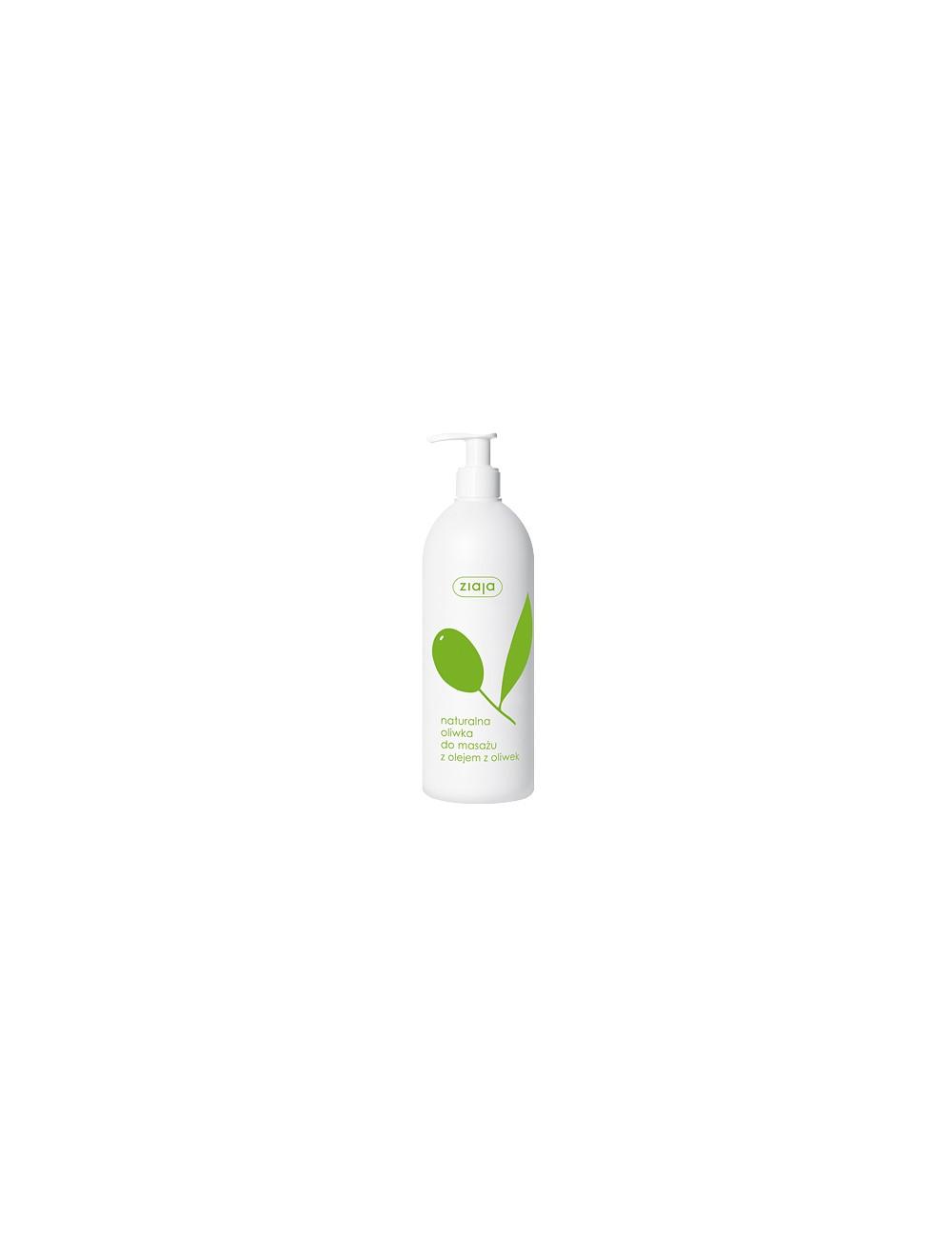 Ziaja Naturalna Oliwka Do Masażu 500ml – z olejem z oliwek i witaminą F