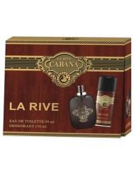 La Rive Cabana Woda Toaletowa 90ml + Dezodorant 150ml – zestaw dla mężczyzn