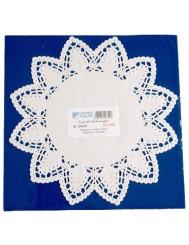 Serwetki Dekoracyjne fi 24cm 12 sztuk – papierowe, pod tort
