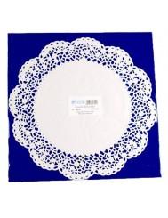 Serwetki Dekoracyjne fi 30cm 12 sztuk – papierowe, pod tort
