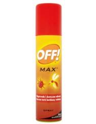 Off Max Spray 100ml – chroni przed ukąszeniami komarów, owadów, kleszczy