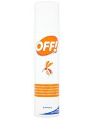 Off Spray Na Komary i Kleszcze 100ml – o przyjemnym zapachu, nie klei się