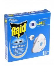 Raid Night & Day Zapas Na Muchy, Komary i Mrówki 1szt – wkład do elektrofumigatora owadobójczego