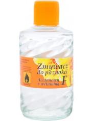 Canexpol Acetonowy Zmywacz Do Paznokci 50ml – z witaminą F, zawiera wyciąg z aloesu