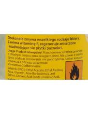 Canexpol Zmywacz Do Paznokci Bez Acetonu 50ml – z witaminą F, zawiera wyciąg z aloesu