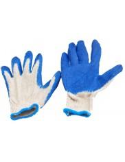 Rękawice materiałowo-gumowe
