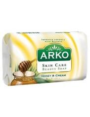 Arko Honey & Cream Mydło w Kostce 90g – z ekstraktem z miodu