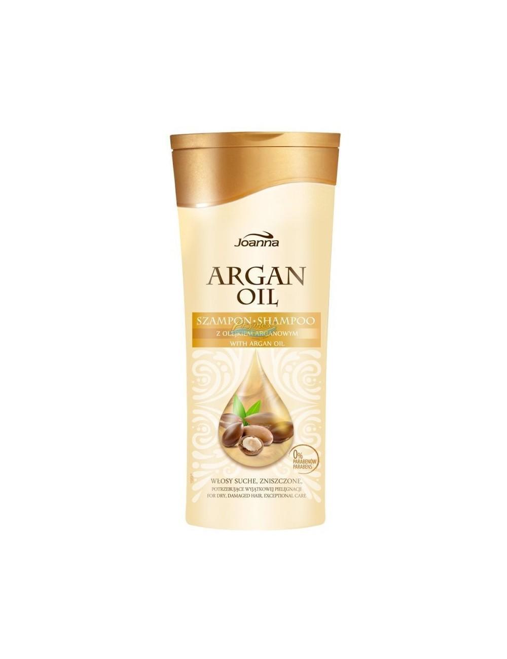 Joanna Argan Oil 400ml – szampon z olejkiem arganowym do włosów suchych, zniszczonych