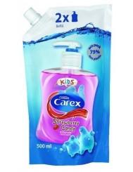 Carex Kids Strawberry Candy Zapas 500ml – truskawkowe, antybakteryjne mydło w płynie