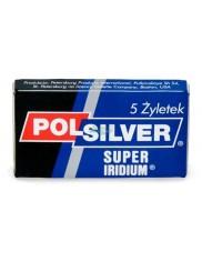 Polsilver Super Iridium (5 żyletek) – żyletki do golenia