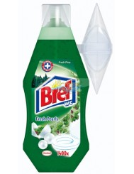 Bref Gel Fresh Pearls Pine 360ml – żel do WC o świeżym leśnym zapachu