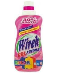 Wirek Automat Kolor Żel do Prania 1L (21 prań) – idealny do wełny, bawełny i jedwabiu