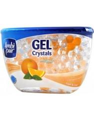 Ambi Pur Gel Crystals Fresh & Cool 150g – odświeżacz powietrza w żelowych kulkach