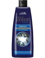 Joanna Ultra Color Niebieska Płukana do Włosów Siwych, Blond, Rozjaśnianych 150ml – nadaje platynowy odcień