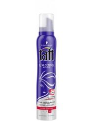 Taft Ultra Control Ultra Strong 4 Supermocna Pianka do Włosów 250 ml – kontrolowane wygładzenie