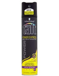 Taft Power Express Mega Strong 5 Lakier do Włosów Megamocny 250 ml