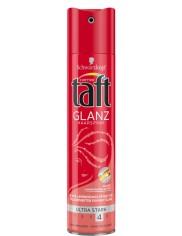 Taft Glanz Haarspray Ultra Stark 4 Niemiecki Lakier do Włosów Super Mocny 250 ml