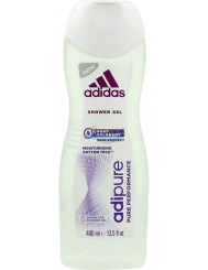 Adidas AdiPure Żel pod Prysznic dla Kobiet z Formułą bez Mydła i Barwników 400 ml