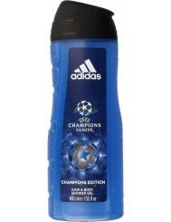 Adidas Champions Edition Żel pod Prysznic do Mycia Ciała i Włosów dla Mężczyzn 400 ml