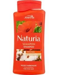 Joanna naturia szampon z makiem i bawełną do włosów farbowanych 500ml