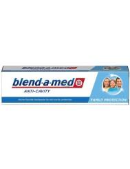 Blend-a-med Anti-Cavity Family Protection Pasta do Zębów z Aktywnym Fluorem dla Ochrony przed Ubytkami 100 ml