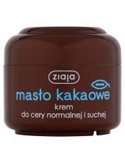 Ziaja masło kakaowe krem do twarzy do cery normalnej, suchej – poprawia koloryt skóry 50ml