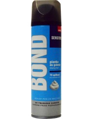 Bond Sensitive 200 ml Pianka – do golenia z minerałami morskimi