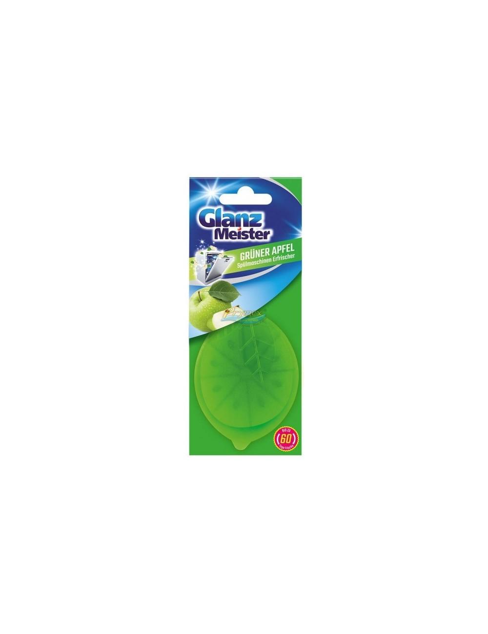 Glanz Meister Grunder Gruner Apfel Niemiecki Zapach do Zmywarki Jabłkowy (60 prań)