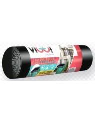 Vigo Czarne Worki na Śmieci LDPE 120 L 10 szt