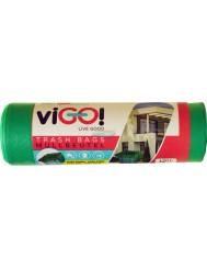 Vigo Zielone Worki na Śmieci LDPE (120 litrów) 7 szt