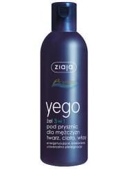 Ziaja Yego Żel pod Prysznic 3-w-1 do Twarzy, Ciała i Włosów 300 ml