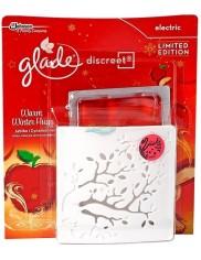 Glade Discreet Electric Jabłko i Cynamon Elektryczny Odświeżacz Powietrza z Wkładem 8 g