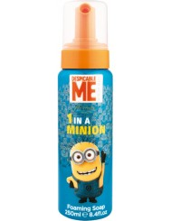 Disney Minion Mydło do Rąk w Piance Niebieska Butelka 250 ml