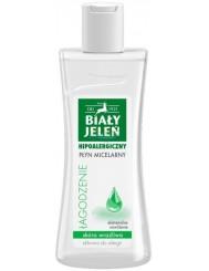 Biały Jeleń Łagodzenie Hipoalergiczny Płyn Micelarny dla Skóry Wrażliwej Skłonnej do Alergii 265 ml