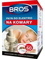 Bros Płyn Do Elektro Na Komary 40ml – zapas z płynem owadobójczym