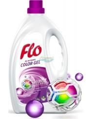 Flo Color Gel Hybrid Formula 4-w-1 Żel do Prania Lilia z Nutami Dzikiej Róży i Magnolii 2 L
