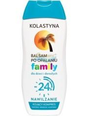 Kolastyna Family 24h Nawilżający Balsam po Opalaniu dla Dzieci i Dorosłych 200 ml